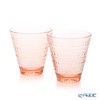 Iittala 'Kastehelmi' Salmon Pink 1020138 Tumbler 300ml (set of 2)