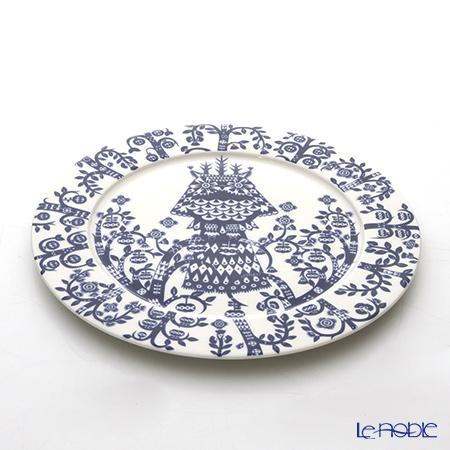 Iittala 'Taika (Owl)' Night Blue Plate 27cm
