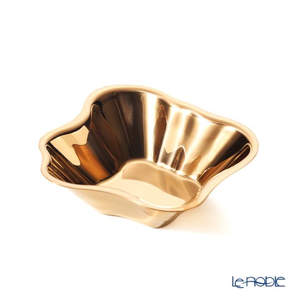 イッタラ(iittala)アルヴァ・アアルト コレクション ステンレスボウル 18.2×5cm ピンクゴールド 1024454