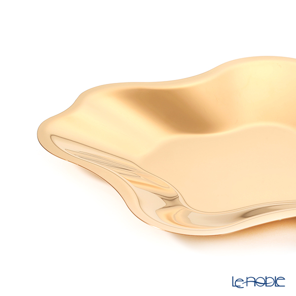 Ittala 'Alva Alto Collection' [Stainless Steel] Pink Gold 1024455 Bowl 31.5x31.5xH3cm