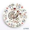 Iittala 'Taika - Siimes (Capercailzie Bird)' Plate 22cm