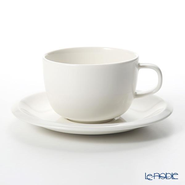 イッタラ(iittala) ラーミ Raami カップ&ソーサー ホワイト 0.27L/16cm