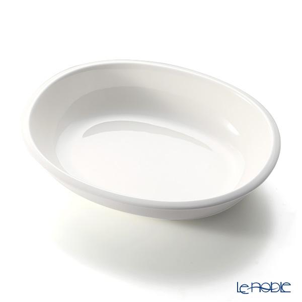 Iittala 'Raami' White 1026940 Oval Serving Bowl 1600ml
