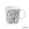 Iittala 'Helle' Turquoise Blue x Orange 1028191 Mug 300ml