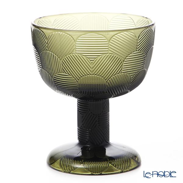 Ittala 'Miranda' Moss Green 1051297 Bowl (footed) H14.5cm