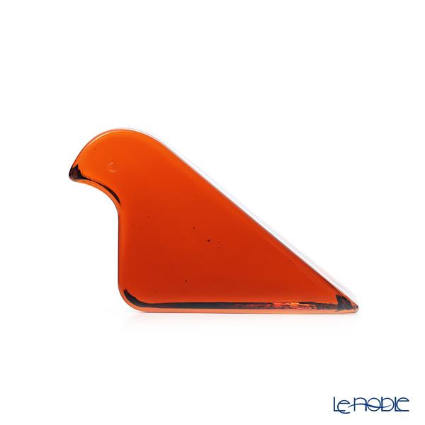 イッタラ(iittala) イッタラ × ミナ ペルホネン 1056818 ガラスバード 135×82mm セビリアオレンジ