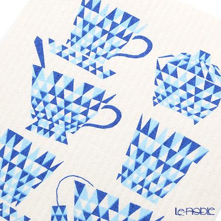 Sponge wipes MORE JOY Teacups (blue)