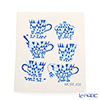 Sponge wipes MORE JOY Teacups (blue)