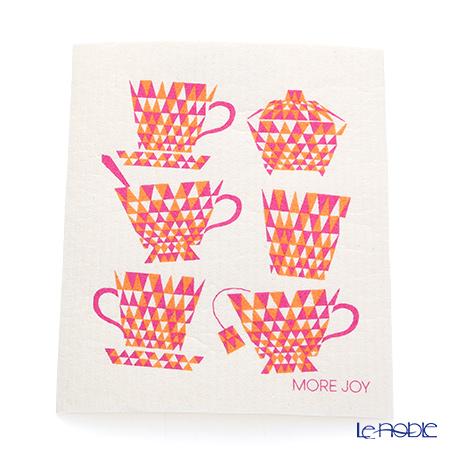 Sponge wipes MORE JOY Teacups (red)