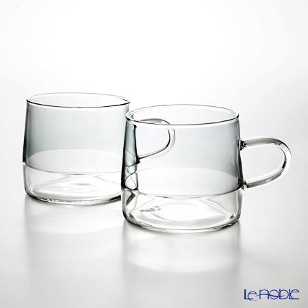KOLME DESIGN PUPULU マグカップ(グレイ) 280ml ペア