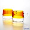 THE THREE DESIGN PUPULU Mug (Amber) pair 280 ml