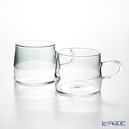 KOLME DESIGN PUPULU マグカップ(グレイ) 170ml ペア