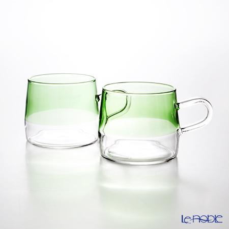 KOLME DESIGN PUPULU マグカップ(グリーン) 170ml ペア