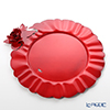 Arti & Mestieri 'Rose Bouquet' Red Charger Plate 34cm