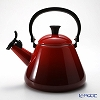 Le Creuset Kone Kettle, cherry red, 1.6 L
