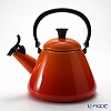 Le Creuset Kone Kettle, orange, 1.6 L
