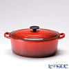 Le Creuset ( LeCreuset cocotte oval 27 cm Cherry Red's