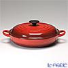 Le Creuset Cast Iron Shallow Casseroles 26 cm Cherry Red's