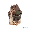 Candle House miniatures chimney / Northern Lithuania ceramics with aromas (incense stand) France Colmar Pfister Hotel B245AR LED Candle...