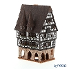 Candle House miniatures chimney / Northern Lithuania ceramics with aromas (incense stand) Germany Alsfeld Town Hall-F16N LED Candle...