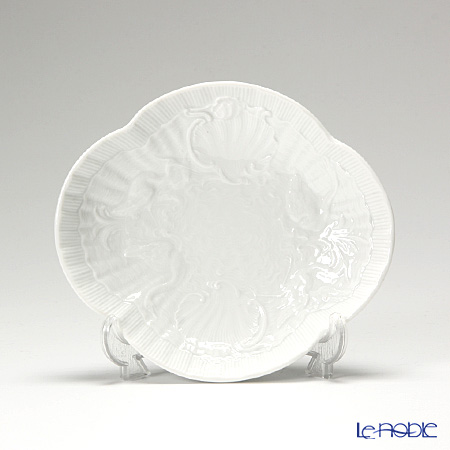000000 / 05284 White Swan service Meissen Oval dish 15 x 13 cm