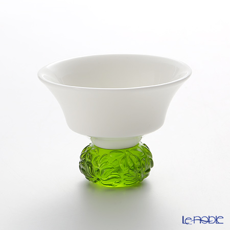 Liuligongfang Liuli Living Glassware (Sake Glass) Seasonal Treasures - Summer Bamboo CTV067.B14AE