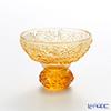 LiuLi Living 'Virtuous Chrysanthemum' Amber Orange CVT062 Sake Glass Cup