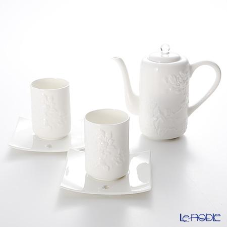 琉璃工房 LIULI LIVING ティーセット カップ&ソーサー2とポット1春水(茶具組) VTC082.BXXAZ