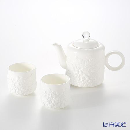 "Liuligongfang Liuli Living ""Four Seasons of Leisure"" (1 Teapot, 2 Teacups) - Coffee and Tea (Set of 3) VTC167.BAXAZ"