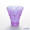 LiuLi Living / Crystal Glass 'In the Presence of Spring / Profusion of Lilies' Purple VGV018 Flower Vase H12.5cm
