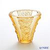 琉璃工房 LIULI LIVING ベース 菊 オレンジ春在ー錦金菊 VGV017.ADXAC