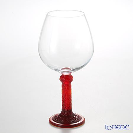 琉璃工房 LIULI LIVING ブルゴーニュ ワイングラス レッド 花月対 CVT065.A14AS