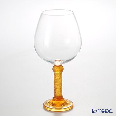 琉璃工房 LIULI LIVING ブルゴーニュ ワイングラス アンバー 花月対 CVT065.A14AA