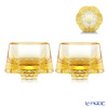 [Back Order] Liuli Gongfang Sake Glass, Shot Glass (Set of 2), Lignt Amber Toast to Happiness! Be Cloud  VTB044. ATXAC