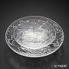 Liuli Living / Crystal Glass 'Fragrant Aerial Dance' Clear VTD111 Plate (set of 2 size)