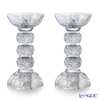 [Back Order] Liuli Living Crystal Candle Holder (Set of 2), Clear