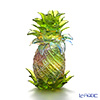LiuLi GongFang / Paste Crystal Glass 'Auspicious Fruit of Pineapple - Escalating Joy' PEF077 Object H12.5cm