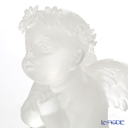 LiuLi GongFang / Paste Crystal Glass 'Angel / When You Wish Upon A Star' PAJ009 Figurine H11cm