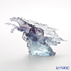 LiuLi GongFang / Paste Crystal Glass 'Forever Entwined / The Stars and Moon - Beloved Darling (Horse)' PEH196 Animal Figurine H18cm [LE1200]