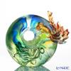 [Back Order] Liuli Gongfang Handcraft Crystal Fish Figurine