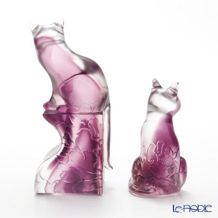 "LIULI GONGFANG ""The House Cat""  Cat Figurine PAH011. ADABR"