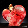 [Back Order] Liuli Gongfang Handcraft Crystal Bird Figurines (Romance and Love)
