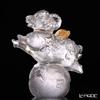 [Back Order] Liuli Gongfang Crystal Sheep Figurine (My Dream)