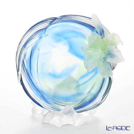 琉璃工房 LIULI GONGFANG オブジェ ユリ五月百合五月 PCG011.ADACF