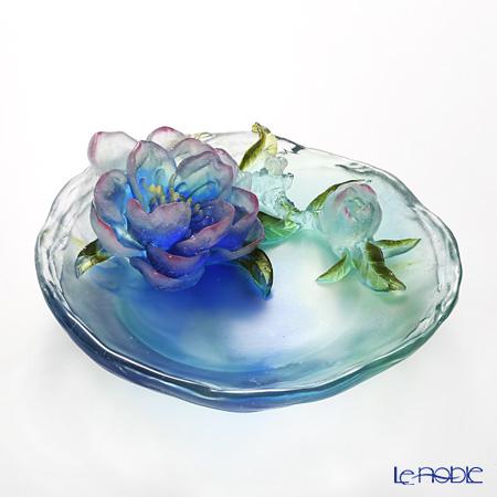 "LIULI GONGFANG ""Peach Blossoms, March"" Flower Figurine (Inner Beauty)  PCG009. ADAEL"