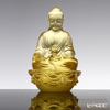 [Back Order] Liuli Gongfang Buddha Figurine (Accompanied by Peace and Joy)