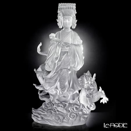 "[Back Order] Liuli Gongfang Crystal Buddha Figurine (Mazu) ""Goddess of the Sea, Waves of Benevolent Light"" PRD003. ADAAZ"