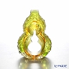 LiuLi GongFang / Paste Crystal Glass 'Hulu Gourd / United Altruism' PEE047 Object H13cm