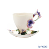 Franz Collection 'Sage Herb' FZ00457 Sculptured Cup & Saucer