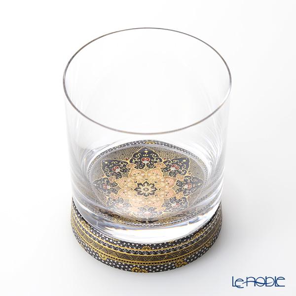 現代の京薩摩×九谷和ガラス ロックグラス 伝統工芸士 小野多美枝氏 -空女-作